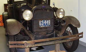 Unrestored Vehicle
